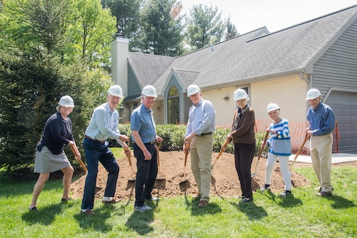 April 28 – Breaking Ground for Campus-Wide Project!